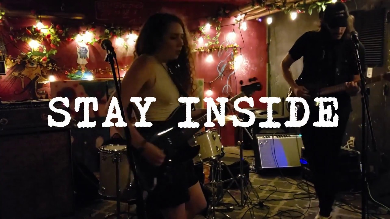 Stay Inside (Brooklyn, NY) playing their first set as a three piece at Mem's (Cat Tatt) birthday show on 7/20. New song yet to be titled.